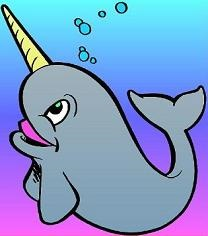 Free Narwhal Clipart.