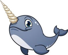 Clipart narwhal.