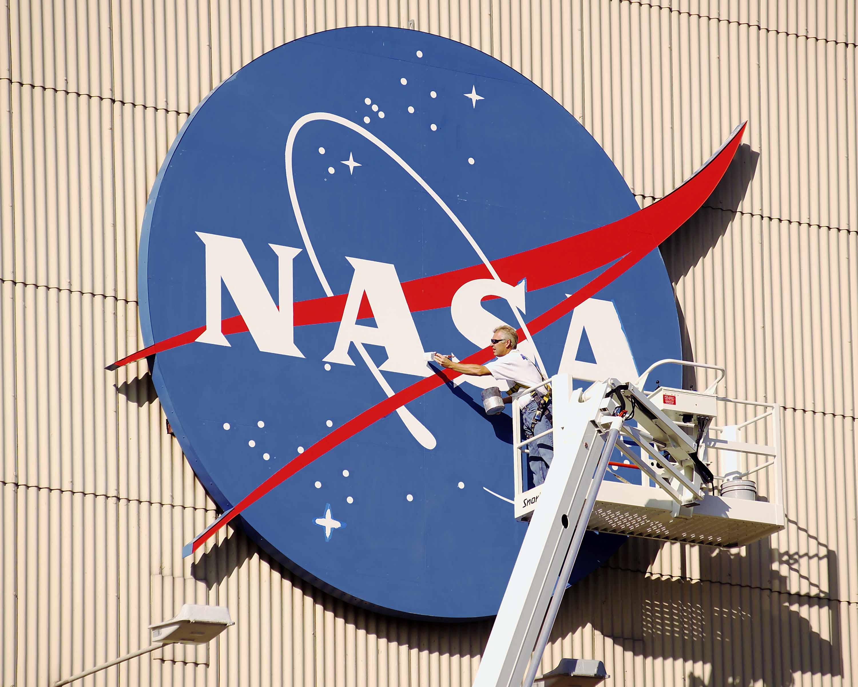 Symbols of NASA.
