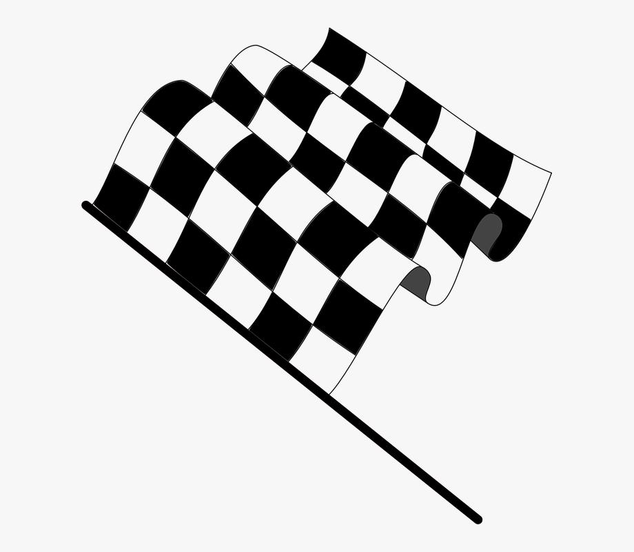 Finish Line Clipart Checkerboard.