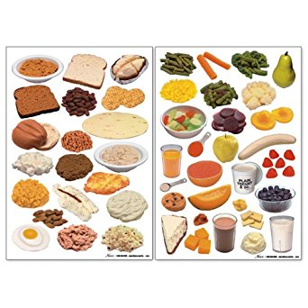 Amazon.com: Nasco WA26797 Food Cling Set I, 2 Sheets with 50 Re.