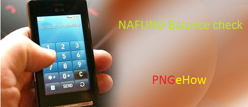 How to use Mobile Phones to Check NASFUND Balance.
