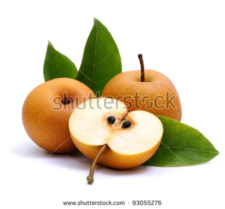 Asian Pear Stock Photos, Royalty.