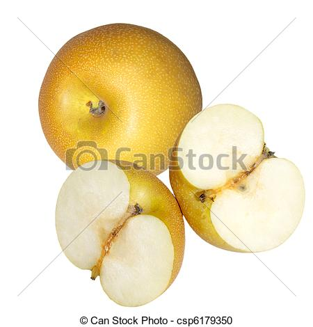 Stock Photography of Asian Pear.