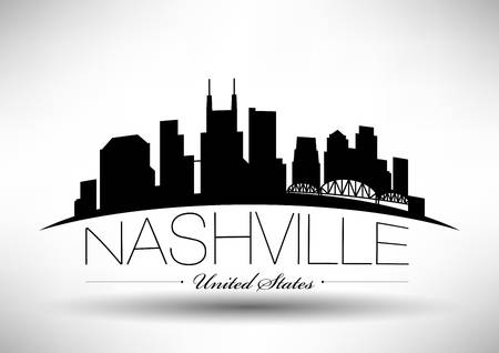 125 Nashville Skyline Stock Vector Illustration And Royalty.