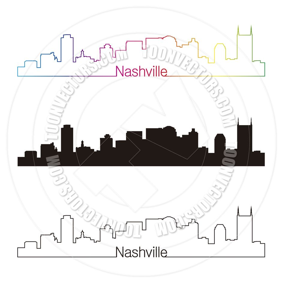 Nashville Tennessee Free Clip Art.