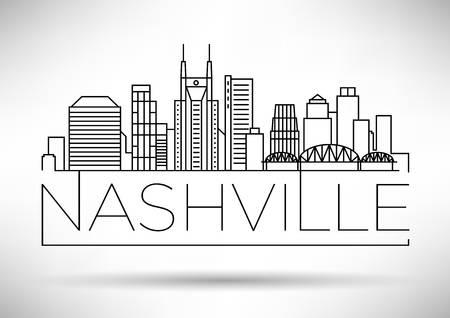 125 Nashville Skyline Stock Vector Illustration And Royalty.