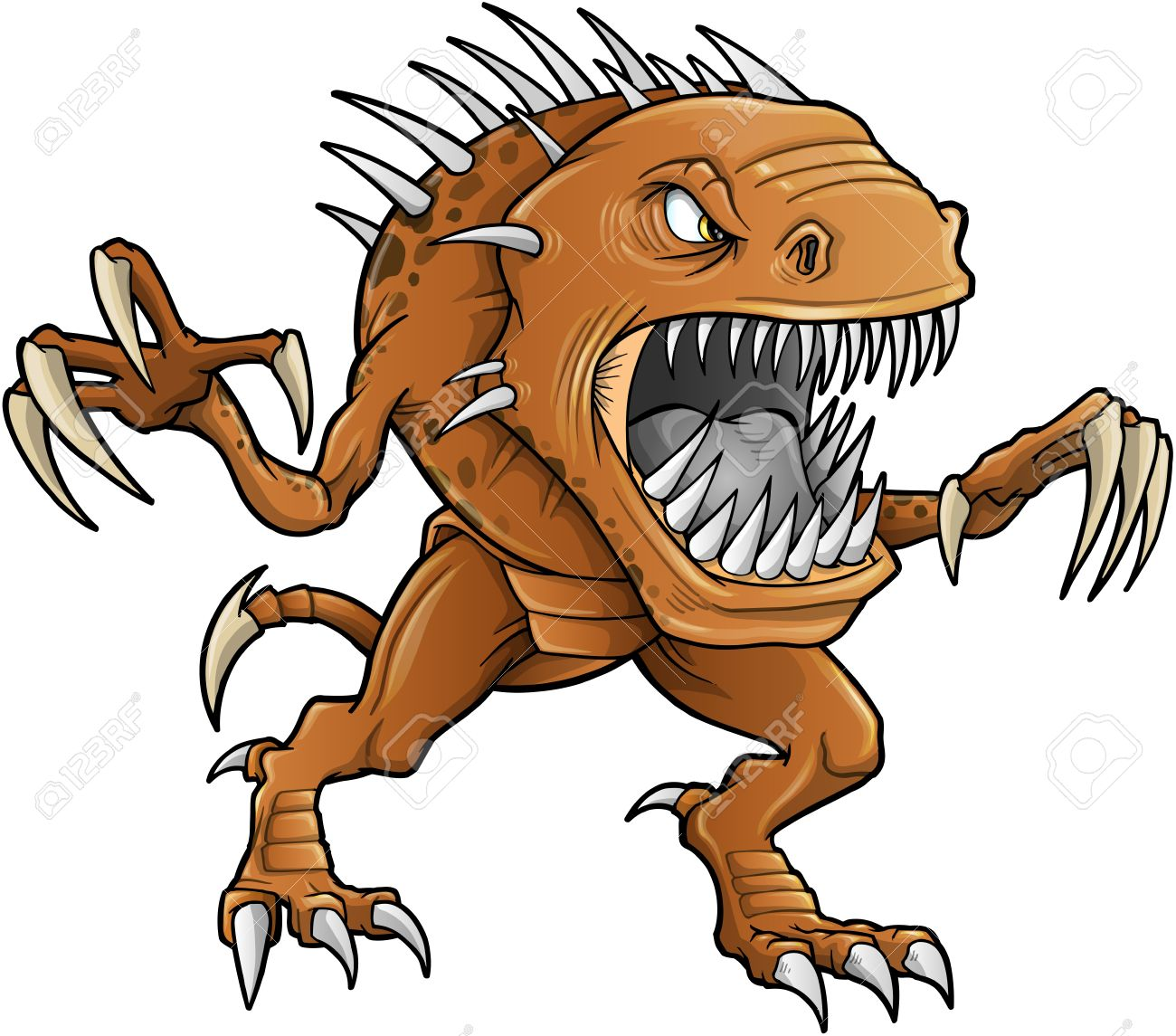 Demon Monster Beast Vector Royalty Free Cliparts, Vectors, And.