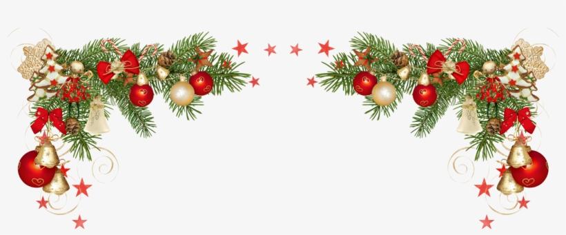 Download Free png Moldura De Natal Png Christmas Corner.