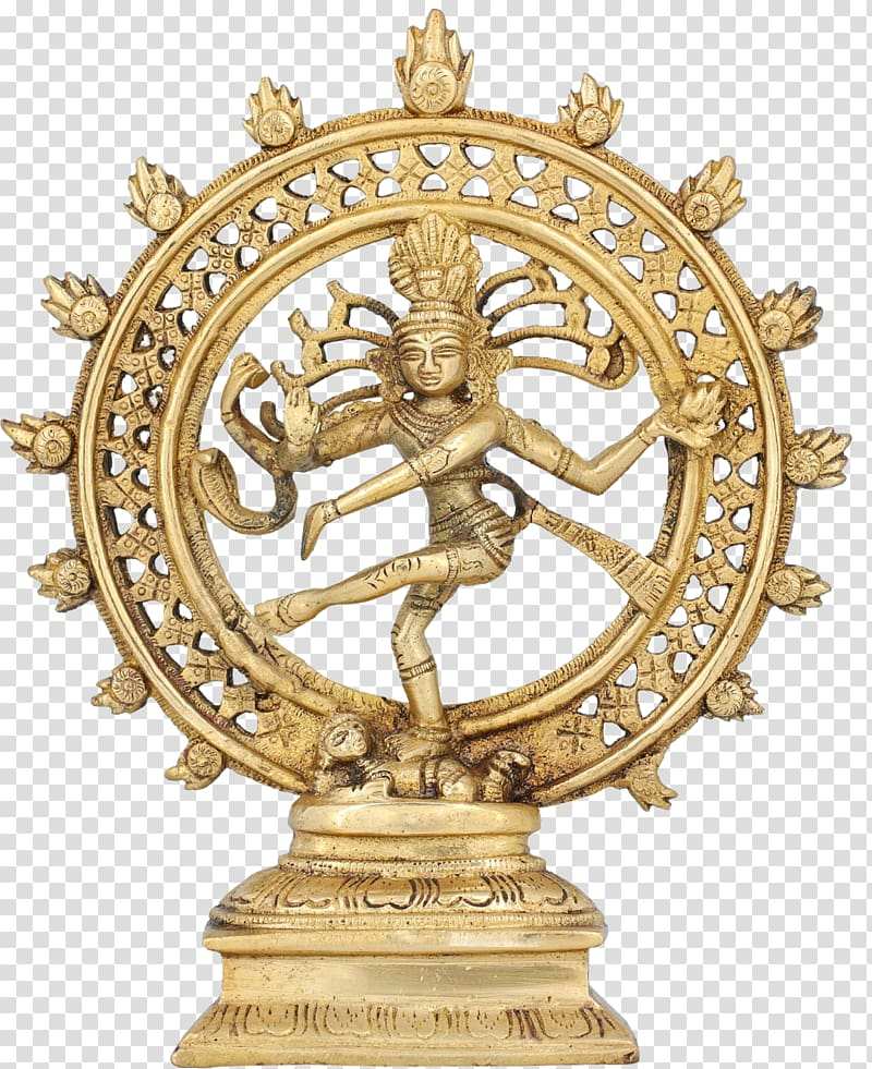 Mahadeva India Nataraja Dance Statue, india transparent.