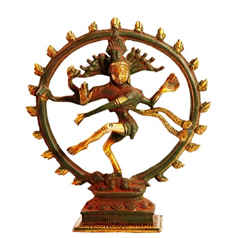 Amazon.com: Purpledip Brass Statue Nataraja (Shiva Siva In.