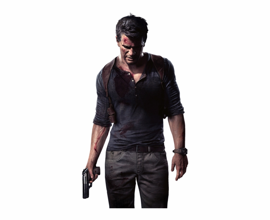 Nathan Drake Uncharted Png Image With Transparent Background.