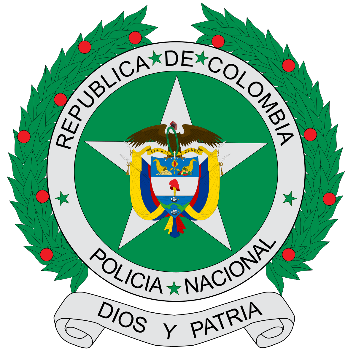 National Police of Colombia.