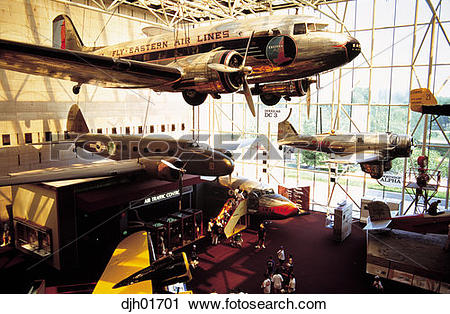 Stock Photography of National Air and Space Museum, The.