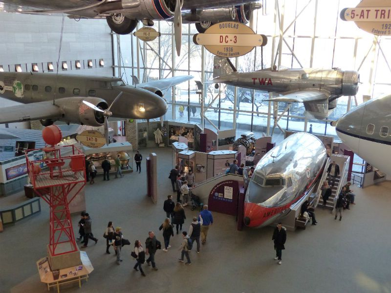 The Smithsonian National Air and Space Museum (with kids.