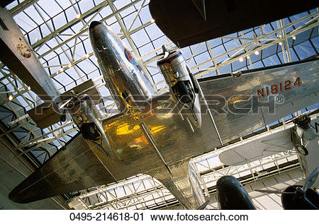 Stock Photography of Washington, DC, National Air and Space Museum.
