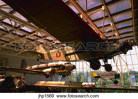 Stock Photograph of National Air and Space Museum in Washington.