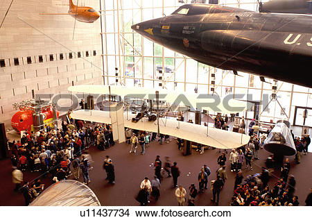 Stock Photo of National Air and Space Museum, Washington, DC.