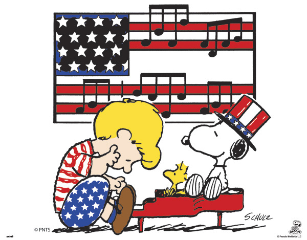 """For the Fourth of July: the National Anthem, from """"A Boy Named."""
