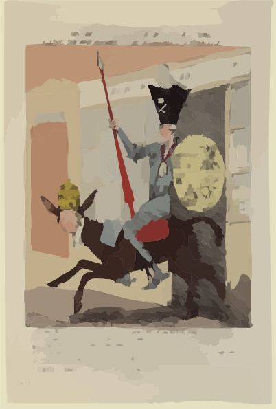 The Knight Of The Woeful Countenance Going To Extirpate The.