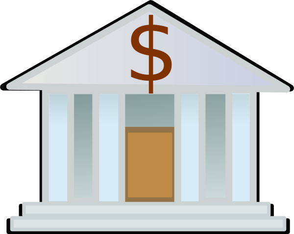 National bank clipart.