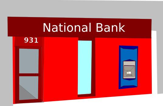 No National Bank Clipart.