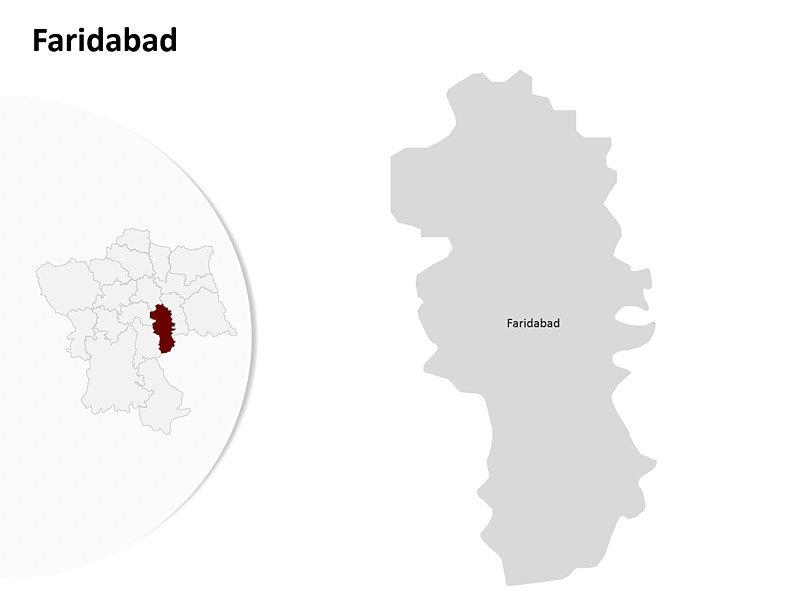 Delhi Map.