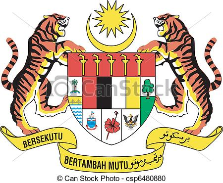 Vector Clipart of national emblem of Indonesia csp6480880.