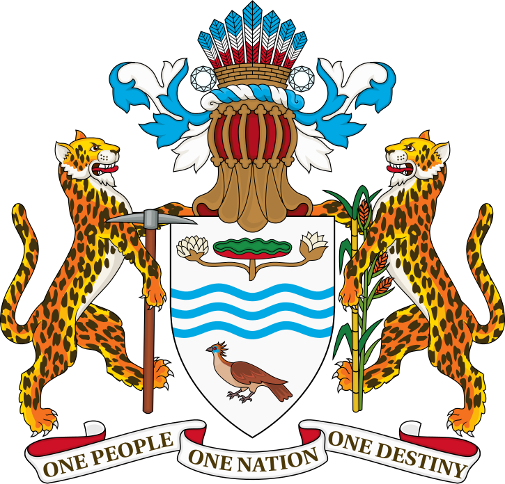 Coat of arms of Guyana.