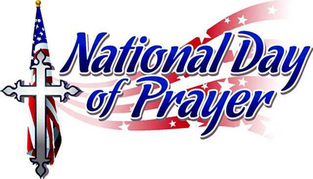 National Day of Prayer event Thursday at noon.
