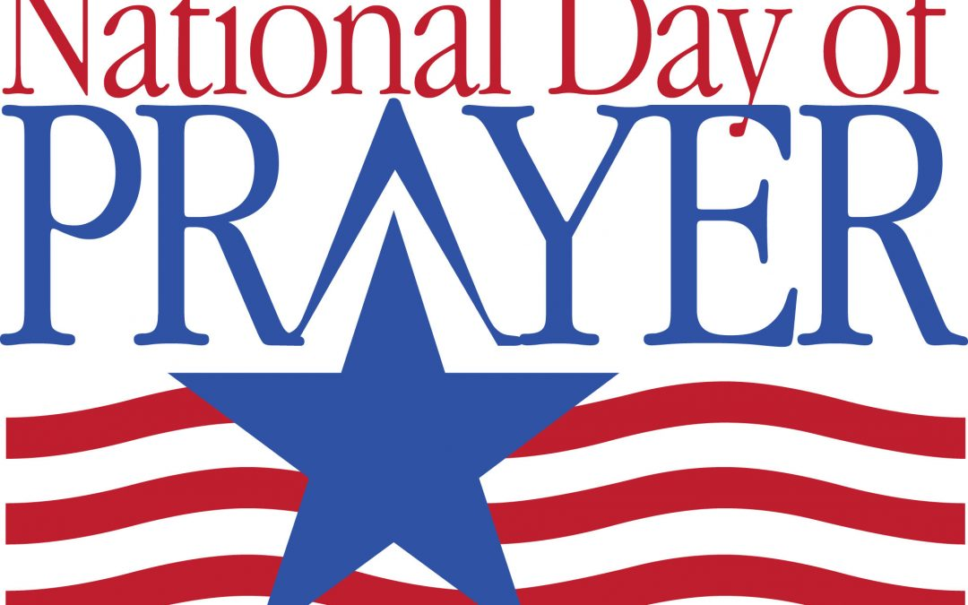 National Day of Prayer Breakfast May 2nd at 8:30am.