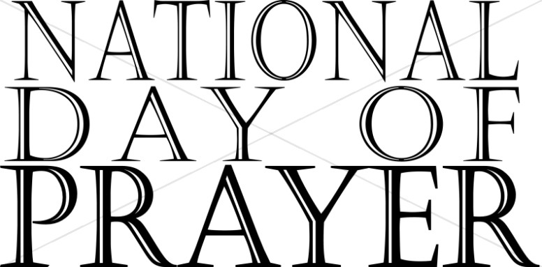 The National Day Of Prayer Words.