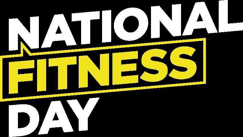 National Fitness Day 2019 , Transparent Cartoon.