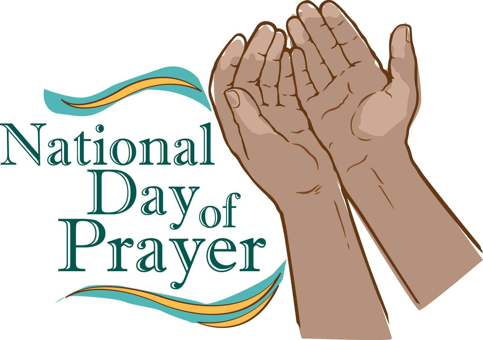National Day Of Prayer May 5th Free Clipart.