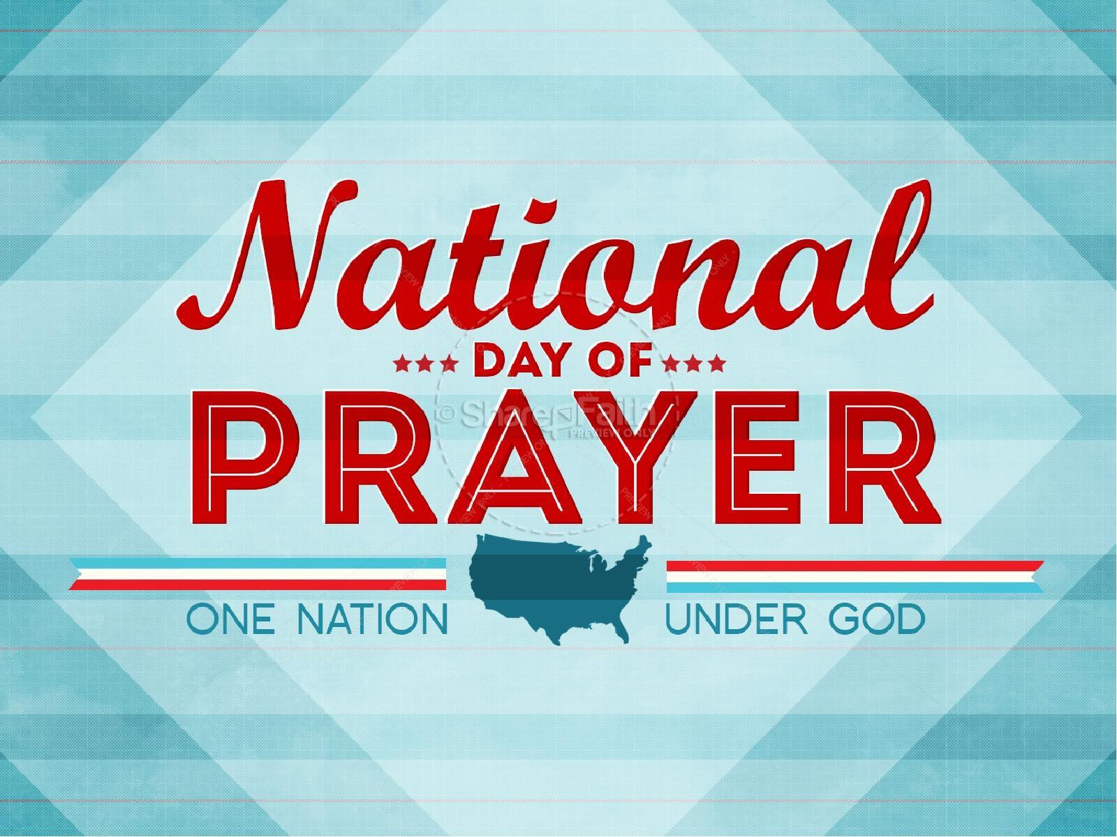 National Day of Prayer Sermon.