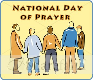 National Day of Prayer with Box.
