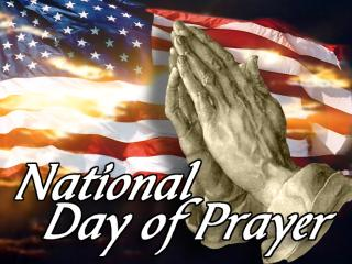 National Day Of Prayer 2016 Free Clipart Banner.