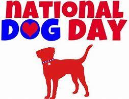 Image result for National Dog Day Clip Art.