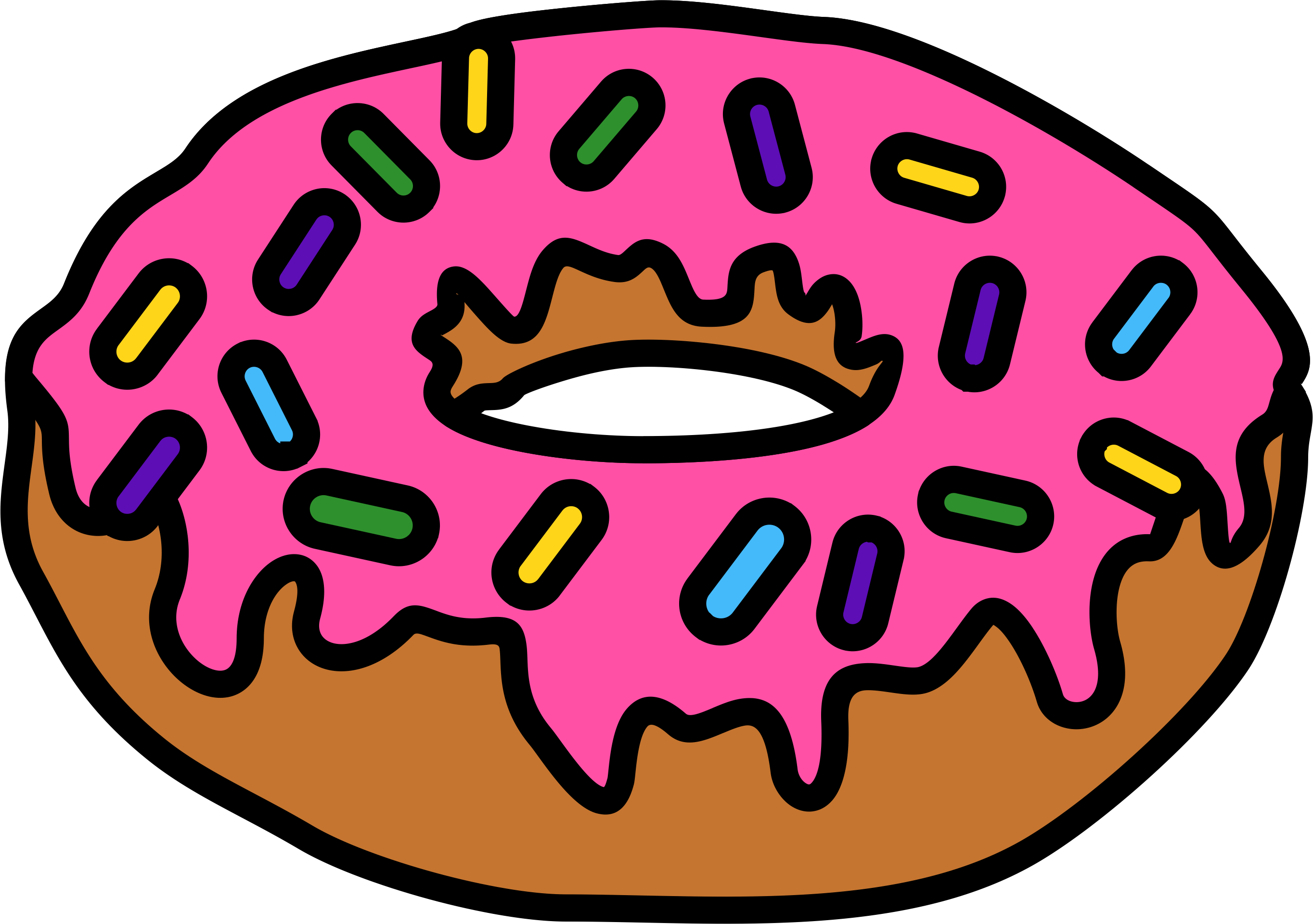 Donuts Doughnut Lounge National Doughnut Day Cafe Clip art.