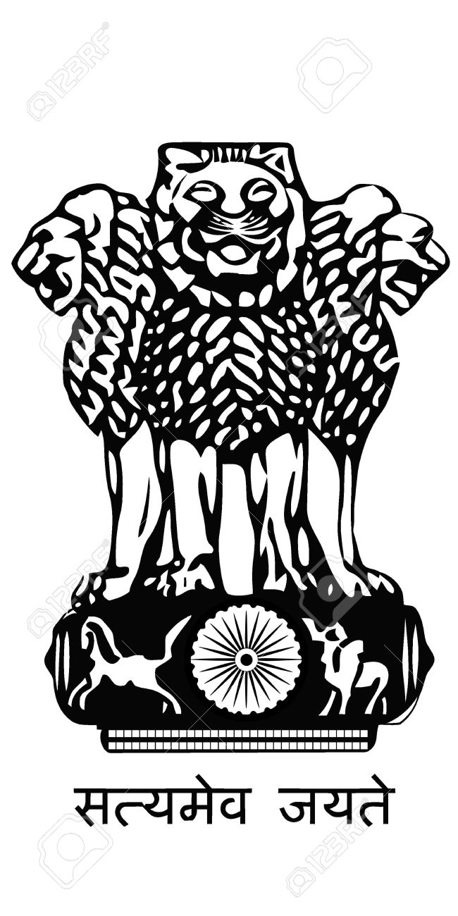 Indian emblem clipart.