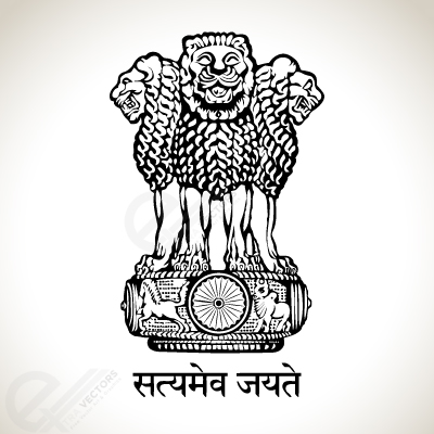 National Emblem of India.