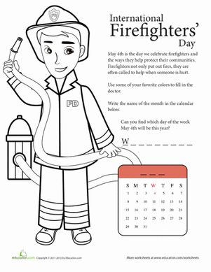 17 migliori idee su National Firefighter Day su Pinterest.