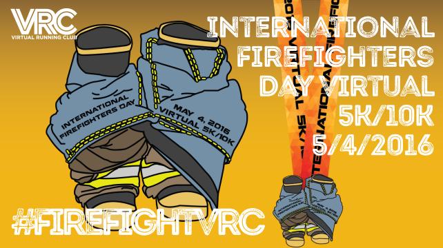International Firefighters Day Virtual Race » Virtual Running Club.