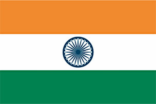 India Flag Clipart.