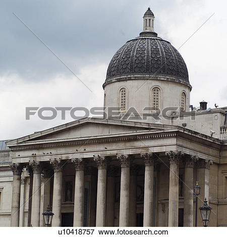 Picture of The national gallery in London, England u10418757.