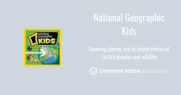 National Geographic Kids Review for Teachers.