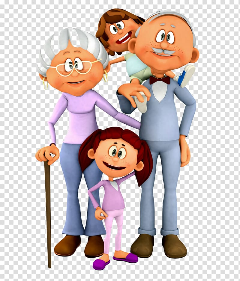 National Grandparents Day grandfather , parents transparent.