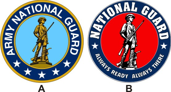 Army National Guard Logo.