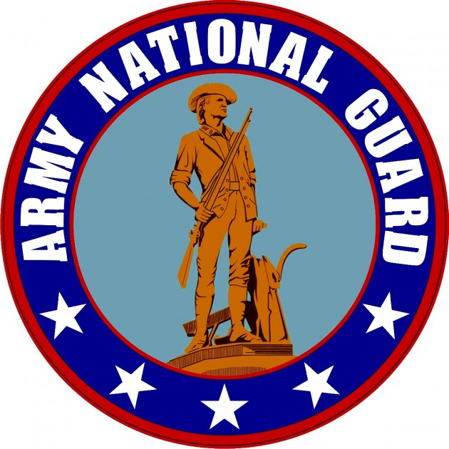 Showing post & media for Army national guard symbol.