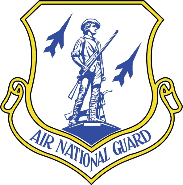 Air national guard Free vector in Encapsulated PostScript.